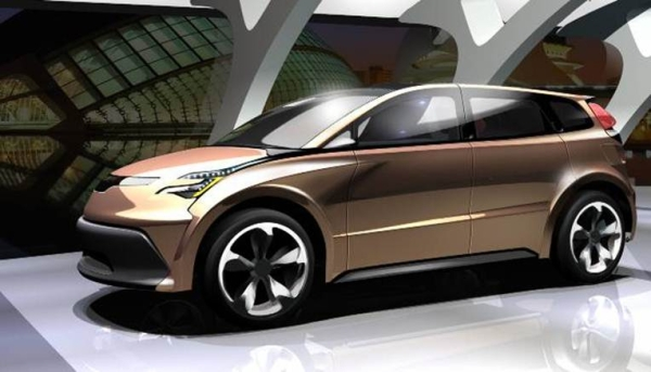 Exterior styling of Lightweight vehicle