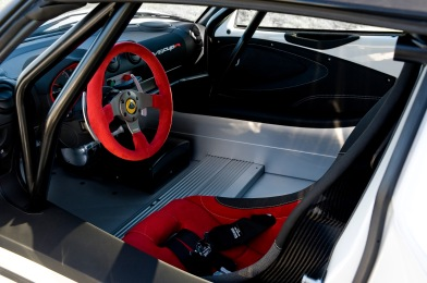 Interior picture of the Exige V6 Cup R