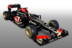Lotus F1 Team's 2013 racing car the E21