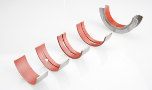 Federal Mogul has developed a new series of polymer IROX coated bearings that combine a Pal (PolyAmidelmide) overlay