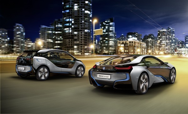 The carbon fibres for the i3 and i8 are made in the US and shipped to Germany for transformation into body parts
