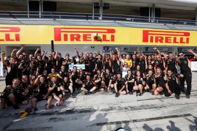 Lotus F1 Team photo