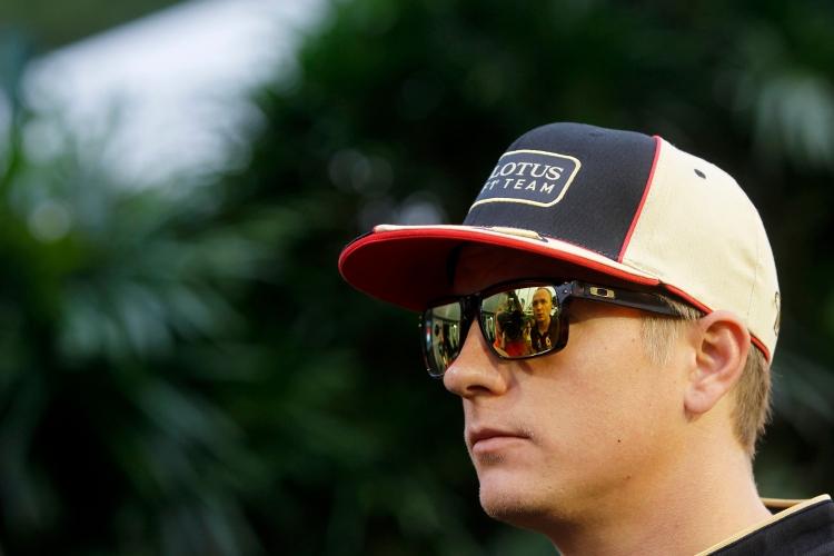 Kimi Raikkonen, Lotus F1.
