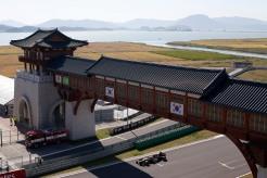 Korea International Circuit, Yeongam-Gun, South Korea.