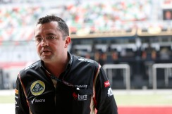 Eric Boullier, Team Principal, Lotus F1.