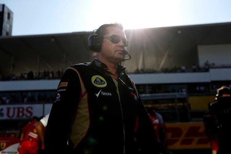 Eric Boullier, Team Principal, Lotus F1