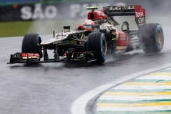Friday 1st November 2013. Romain Grosjean, Lotus E21 Renault.