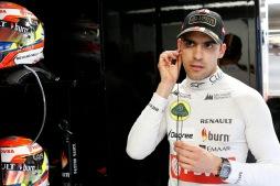 Pastor Maldonado, Lotus F1.