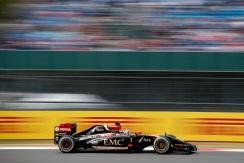 Romain Grosjean, Lotus E22 Renault.