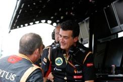 Federico Gastaldi, Deputy Team Principal, Lotus F1.