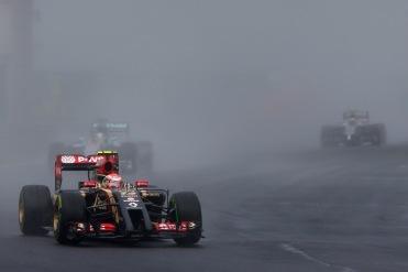 Pastor Maldonado, Lotus E22 Renault.